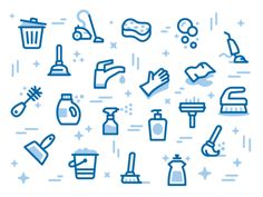 MaidPro Icon Pattern