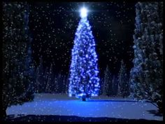 Blue Christmas Tree Photo: This Photo was uploaded by Find other Blue Christmas Tree pictures and photos or upload your own with Photobucket f. Merry Little Christmas, Blue Christmas, Christmas Music, Beautiful Christmas, Christmas And New Year, Christmas Lights, Christmas Holidays, Christmas Decorations, Family Christmas