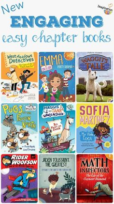 which books will your easy chapter books will your child want to read? NEW & Interesting easy chapter book recommendations!