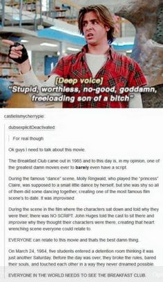 Quotes movie classic breakfast club 51 Ideas for 2019 Movies To Watch, 80s Movies, Good Movies, Movie Tv, Greatest Movies, Movie Club, 80s Movie Costumes, Indie Movies, Action Movies