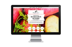 Taste of Finland website design by Marko Myllyaho
