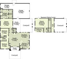 Jacqueline 7036 - 3 Bedrooms and 2 Baths | The House Designers