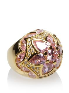 CZ by Kenneth Jay Lane Byzantine Domed Ring at MYHABIT
