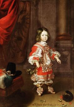 1650s Frans Luycx (1604–1668) Charles Joseph (1649-1664) Archduke of Austria with Squirrel
