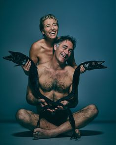 Why Emma Thompson, Mark Rylance, Jodhi May And Other Celebrities Are Posing Naked With Dead Fish