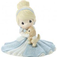 "Disney Cinderella Figurine ""A Friend Fit For A Princess"", Porcelain  #171095  $55.99"