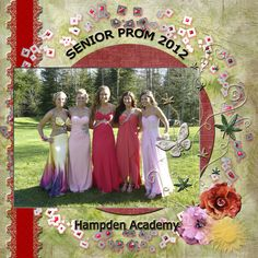Senior Prom - Scrapbook.com