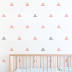 Triangle-nursery-wall-decals