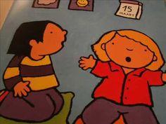 Anna in de klas. Digitaal prentenboek voor kleuters.
