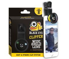 Black Eye - Wide Angle Lens with Universal attachment clip