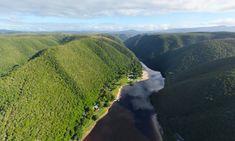Plettenberg Forever Resorts campsite. Image credit: Chris du Plessis, 360 Image Film.