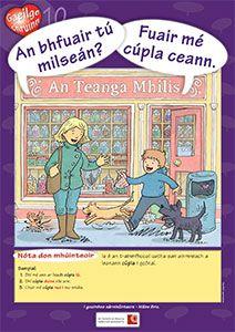 Póstaeir dírithe ar chruinneas Gaeilge, bunaithe ar na botúin is coitianta a dhéanann daltaí: Irish Language, Ares, Primary School, Ireland, Posters, Culture, Teaching, Activities, Education