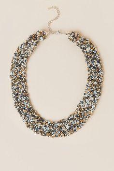 Jojo Seedbead Braid Necklace