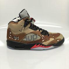 "Air Jordan 5 ""Supreme"" Camo Size 11 DS"