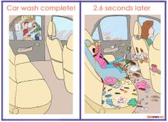 The Incredible Mayhem That Occurs in the 2.6 Seconds After Your Car is Washed | More LOLs & Funny Stuff for Moms | NickMom