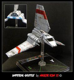 x wing repaints Shuttle