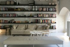 easy, liveable and glamorous style: boffi apartment, milan design week 2010