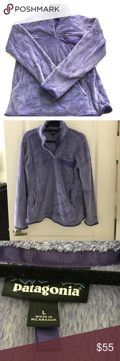 Patagonia Fleece Purple Size L Patagonia Fleece Purple Size Large. Barely worn. Patagonia Jackets & Coats