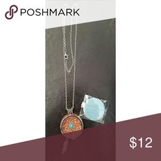 Silver Plated Essential Oil Diffuser  Necklace Silver Plated Jewelry Locket. Essential Oils Diffuser Aromatherapy Necklace. Comes with extra pads Jewelry Necklaces