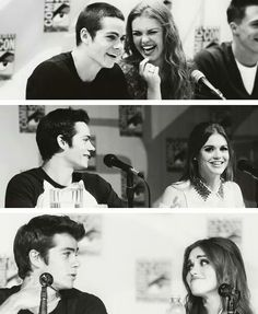 I like this cause at first Holland is looking at Dylan, then Dylan looks at Holland, then there both looking at each other