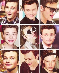 Many faces of Chris