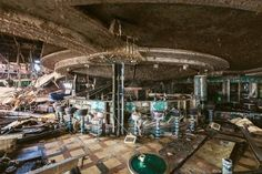 That coffee cup, though! Beautiful decay.  Ship to Wreck: Grim, Beautiful Photos of the Costa Concordia | VICE | United States