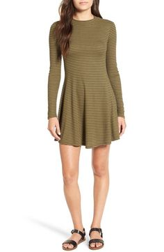 Lush Long Sleeve Knit Dress available at #Nordstrom