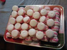 christmas macarons candy canes christmas xmas baking buttercream