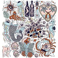 The sun n moon in the top left corner ☽☯☾magickbohemian Tattoo Artwork, Tattoo Drawings, Art Drawings, Desenho Tattoo, Flash Art, Art Graphique, Trendy Tattoos, Doodle Art, Body Art Tattoos