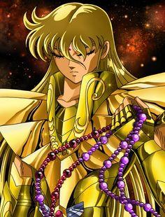 Saint Seiya - Gold Saint Virgo no Shaka Marvel 616, Shaka Tattoo, Sailor Moon, Manga Anime, Virgo Constellation Tattoo, Fantasy Heroes, Fantasy Art, Tattoo Now, Beste Tattoo