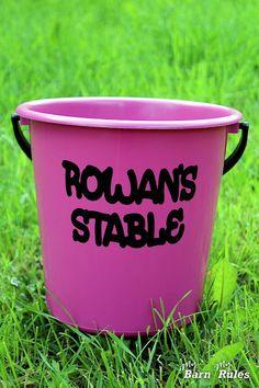 My Barn - My Rules: Ponitädin tee se itse