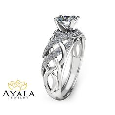 Unique Moissanite Engagement Ring Solid 14K White Gold Ring Art Deco Moissanite Ring Handmade Engagement Ring Now on Sale for Only: $1690.00 Don't Miss This amazing deal! You can see more info about this item here: https://www.camelliarts.com/products/an-0031b?utm_campaign=outfy_sm_1500525018_288&utm_medium=socialmedia_post&utm_source=pinterest #EngagementRing #Solid14kRing #WeddingRing #HandmadeRing #ring #ArtDecoRing #GoldRing #DiamondEngagement #DiamondRing #engagement #PromiseRing…