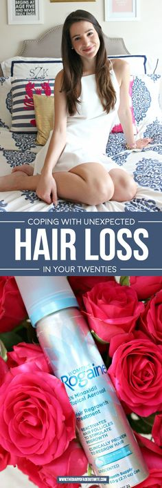 Coping with Unexpected Hair Loss in Your Twenties | Treating Hereditary Hair Loss with Women's Rogaine #HomeRemediesForHairLossInFemales #BestHairRemedyForHairLoss #WhyHairLoss