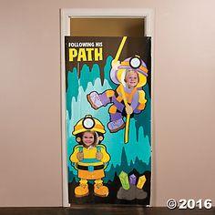 Cave Explorer Photo Door Banner