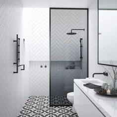 small-bathroom-ensuites Designing a beautiful small ensuite bathroom can be a real challenge with such limited space. Discover our favourite ideas for a smaller ensuite! Bathroom Inspiration, Bathroom Interior, Bathrooms Remodel, Ensuite Bathroom Designs, Bathroom Renovations, Small Bathroom Remodel, Shower Room, Ensuite Shower Room, Bathroom Layout