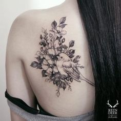 Gorgeous back shoulder piece by Zihwa