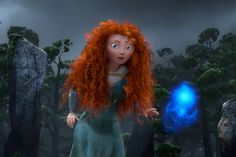 """Screencap Gallery for Brave Bluray, Pixar). Set in Scotland in a rugged and mythical time, """"Brave"""" features Merida, an aspiring archer and impetuous daughter of royalty. Merida makes a reckless Film Pixar, Disney Pixar Movies, Disney And Dreamworks, Brave Film, Brave Movie, Brave Merida, Merida Disney, Brave Disney, Merida Hair"""