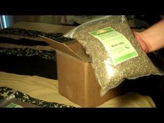 Sprouting seeds: $85 for 3-4 months supply of emergency food.
