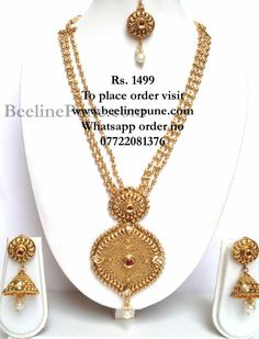 7c9a733e7 Beautiful Necklace.. Hayagi · Necklace Online Shopping India ...