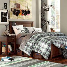 Bedroom, Marvelous Cool Room Designs For Guys Inspirations: Teen Bedding Design Idea