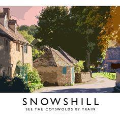 Snowshill (Railway Poster)