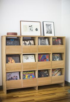 Killscrow. New Vinyl Cabinet with soft close drawers  http://killscrow.com/