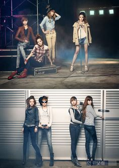 group fashion photoshoot