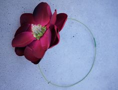 Fabric Flower hair accessories. Great idea for making other decorative pieces as well.