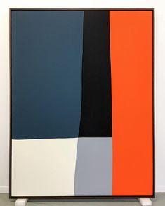 w/ by paul_kremer - Andrew Faris Studio - gutpin Modern Art, Contemporary Art, Modern Retro, Abstract Geometric Art, Living Room Art, Grafik Design, Painting Inspiration, Diy Art, Painting & Drawing