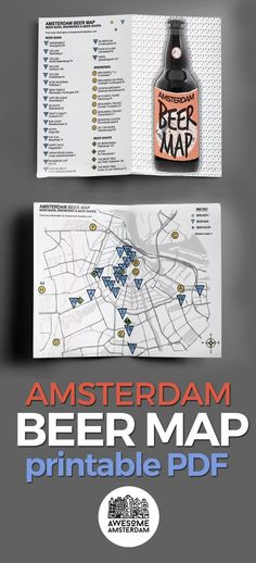 You'll find all the Amsterdam beer bars, local breweries and beer shops on our free PDF map. You can print the double-sided map or use it on your smartphone or tablet. find the Amsterdam Beer Map at http://awesomeamsterdam.com/15-specialty-beer-bars-in-amsterdam/