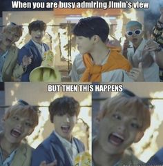 OMG I NOTICED THIS TOO WHEN I WATCHED FIRE MV but seriously tae would literally b me in this situation