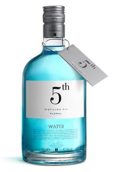5th, distilled gin floral water.