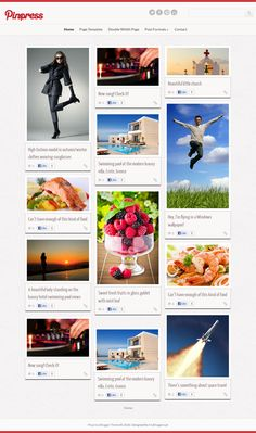 """MBL Pinpress Theme"" A Pinterest Like Template For Blogger ~ My Blogger Lab"