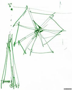 renzo piano, overhead sketch of the shard Renzo Piano, Stippling Drawing, Plan Sketch, Architecture Drawings, Modern Architecture, The Shard, Types Of Art, Book Photography, Presentation Design